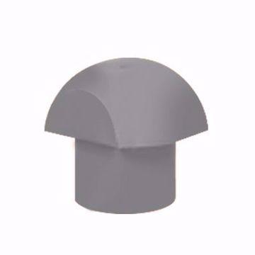 تصویر از کلاهک قارچی طوسی