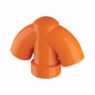 تصویر از کلاهک سه کاره نارنجی